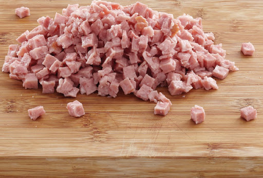 DICED BACON 500G